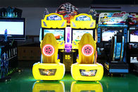 Outrun Racing Game 2 Player Driving Arcade Cabinet With Bright Lighting