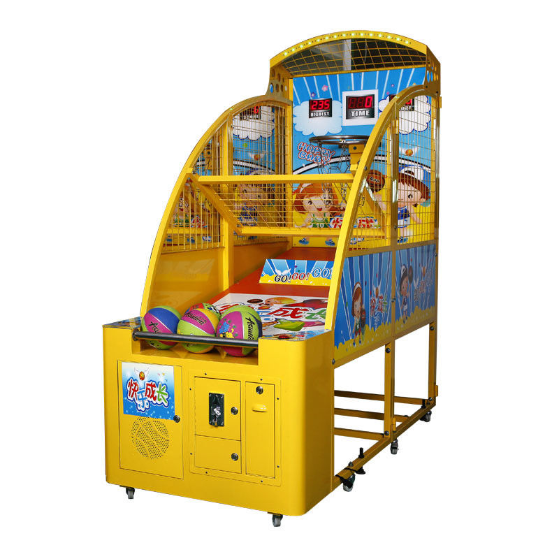 Kids Basketball Machine Sports Arcade Machine 1-2 Players 100W